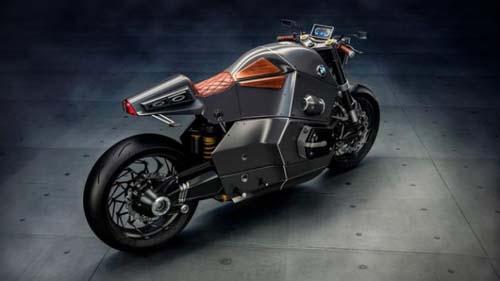 双缸发动机宝马概念摩托 比宝马汽车逼格高