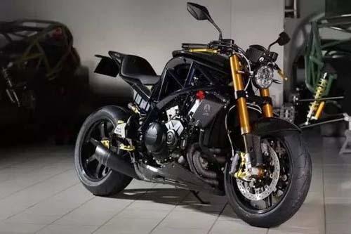 采用本田vfr1200f发动机的未来摩托车ariel ace r(附图)