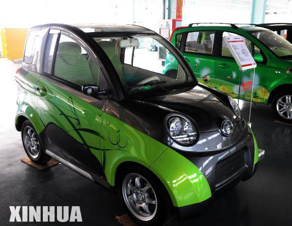 长城欧拉双人座纯电动轿车高清图片